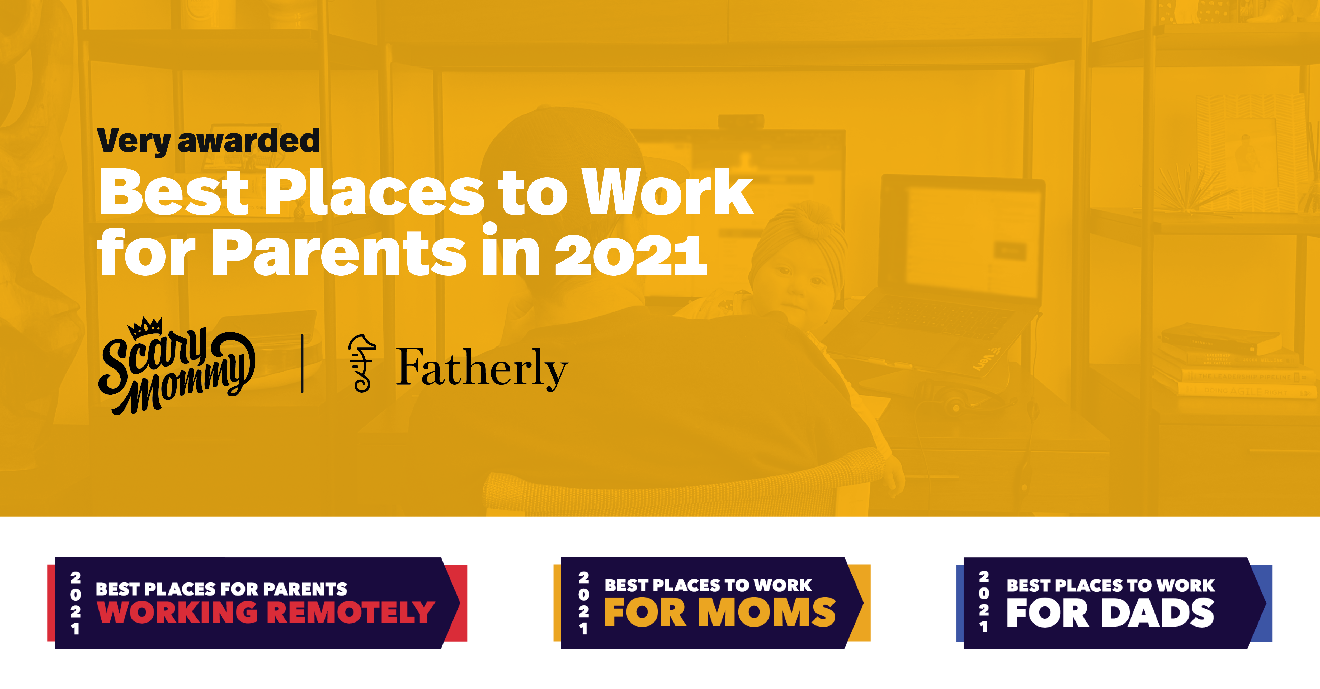 Very Named Among Best Places to Work for Parents