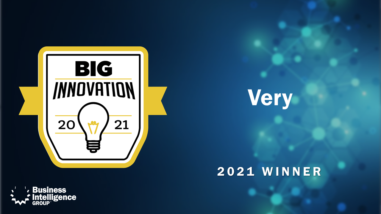 Very Wins 2021 BIG Innovation Award