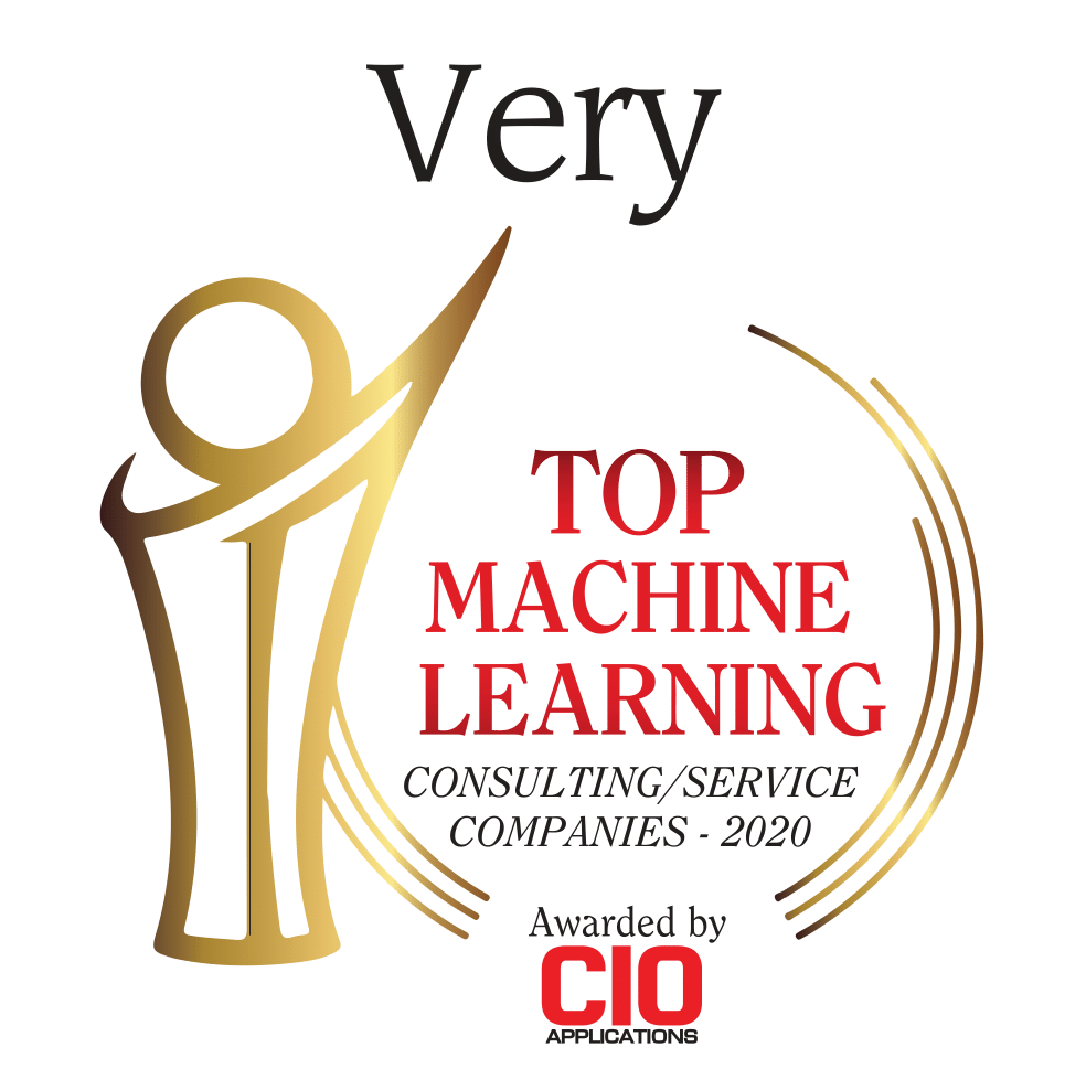 Very Recognized as Top Machine Learning Services Company