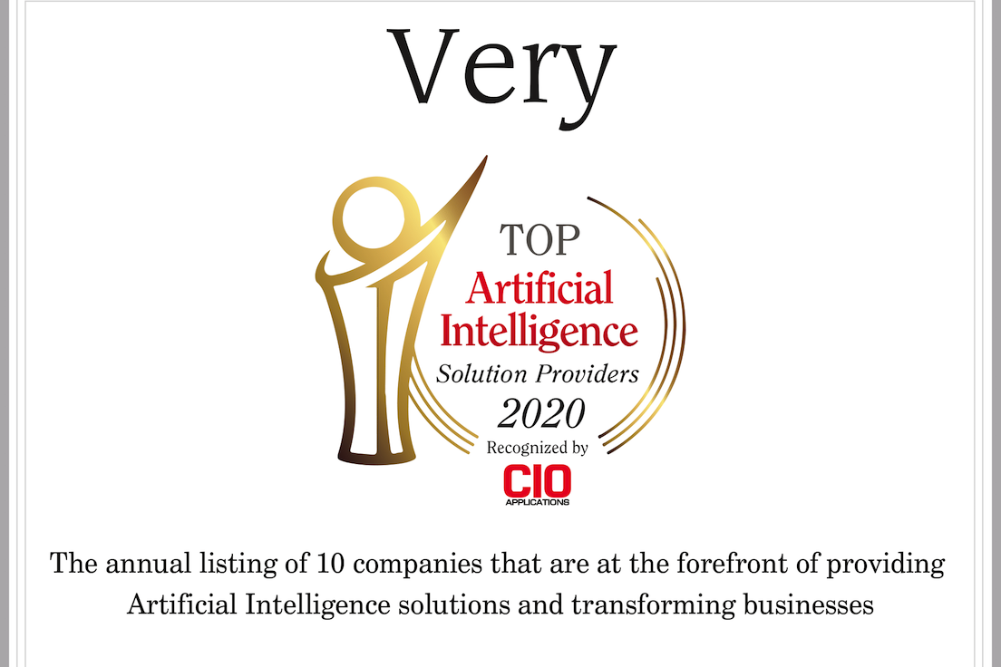 Very Recognized as Top AI Solution Provider