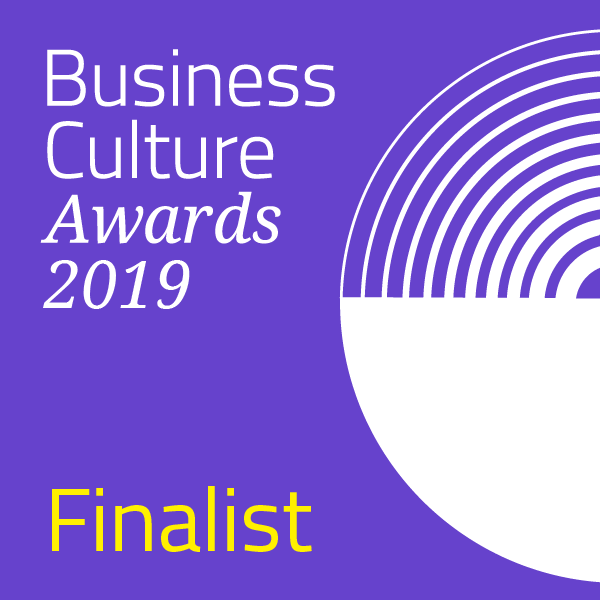 Very Selected as Business Culture Awards Finalist