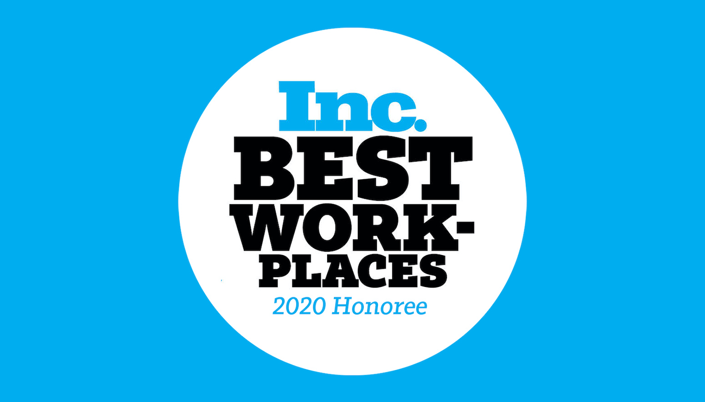 Very Named One of Inc. Magazine's Best Workplaces of 2020