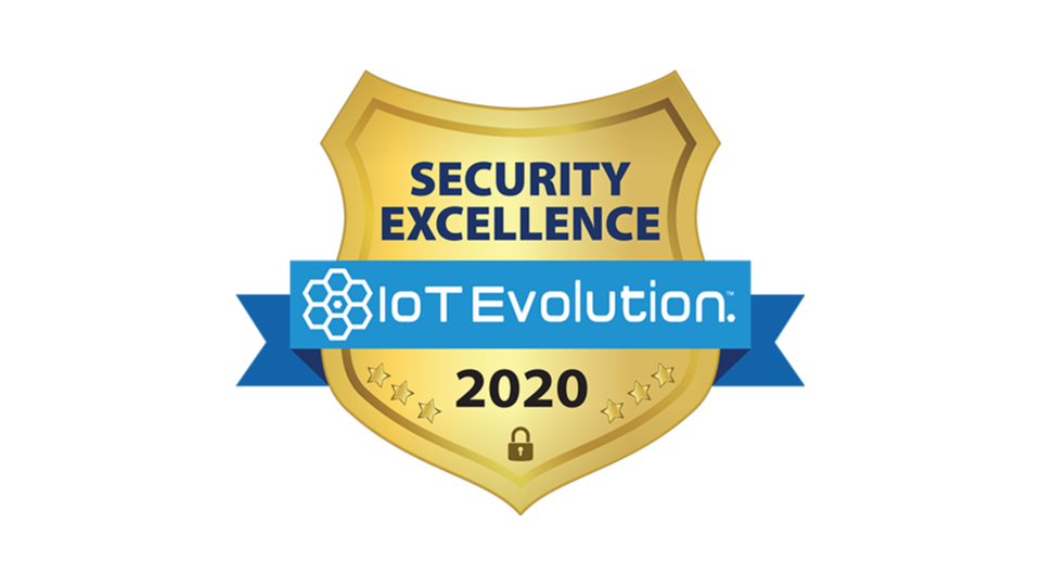 Very Receives 2020 Security Excellence Award from IoT Evolution