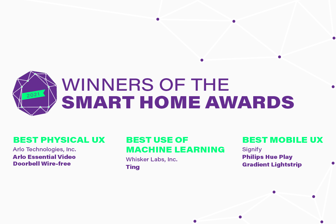 Arlo, Signify, & Whisker Labs Win Very-Sponsored Smart Home Awards