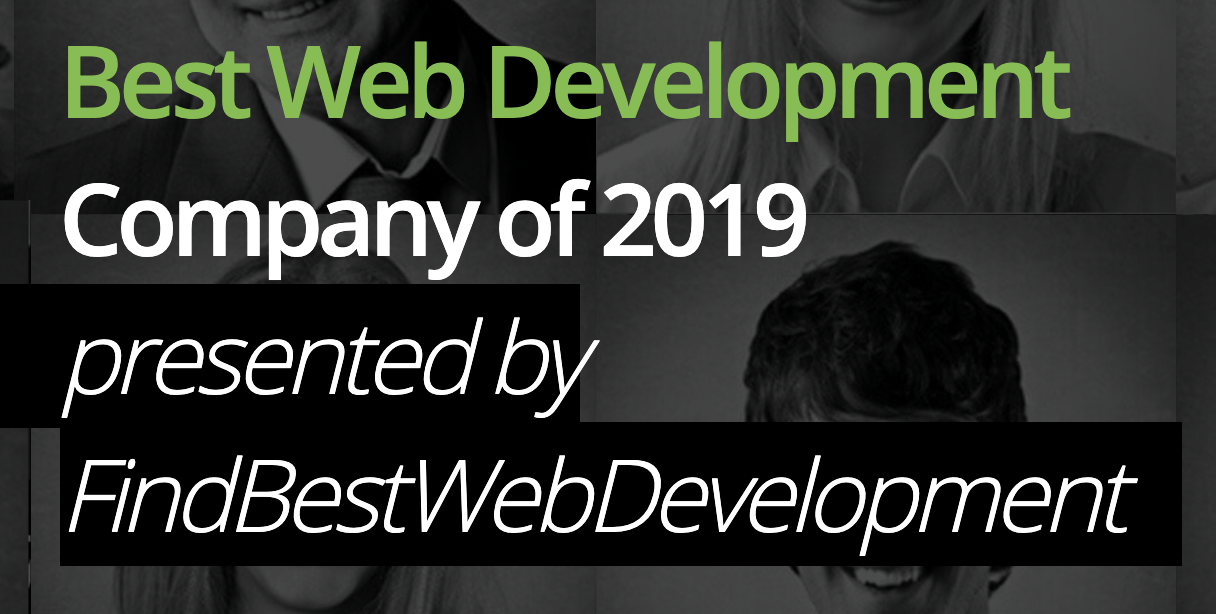 Very Nominated for Best Web Development Company of 2019