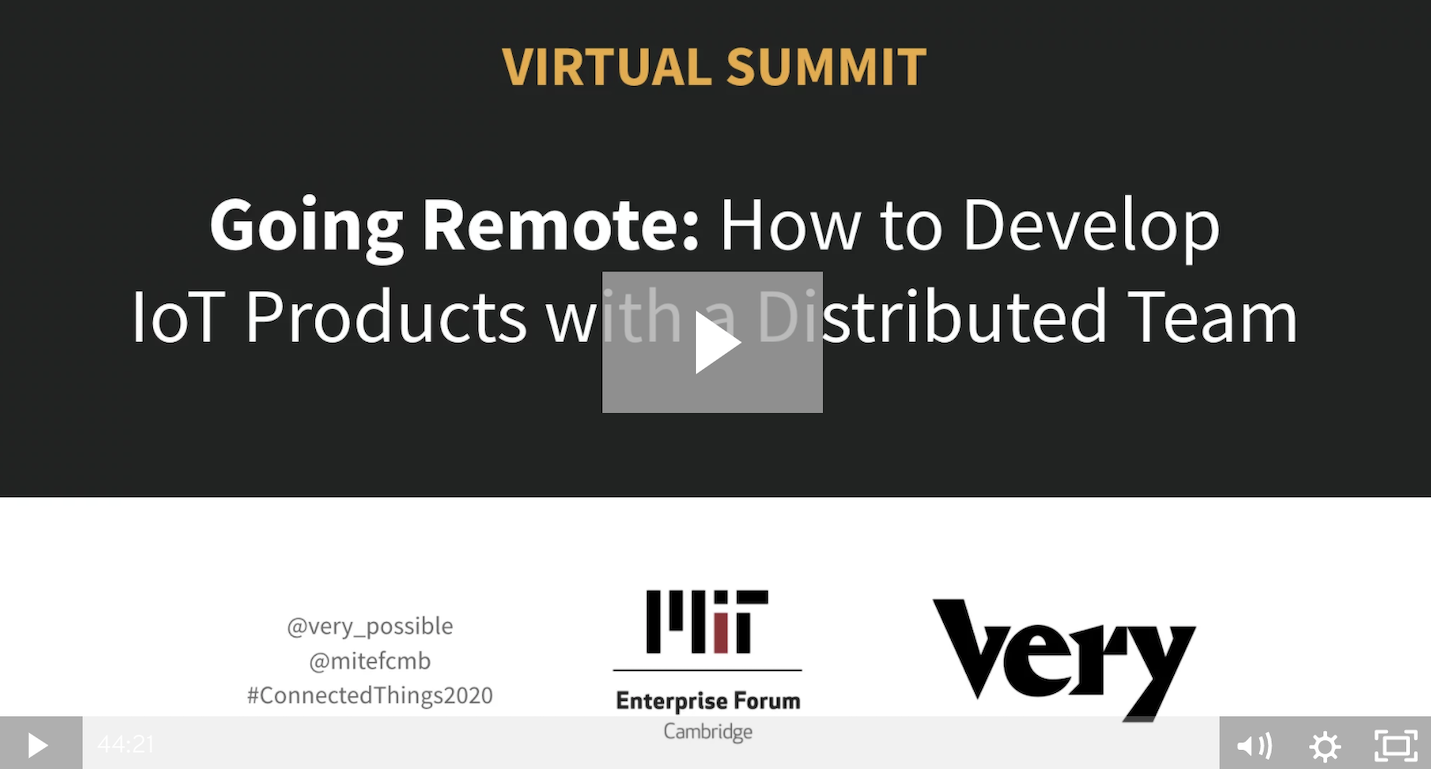 Recap: Remote Work Summit with Vizio, MIT Enterprise Forum