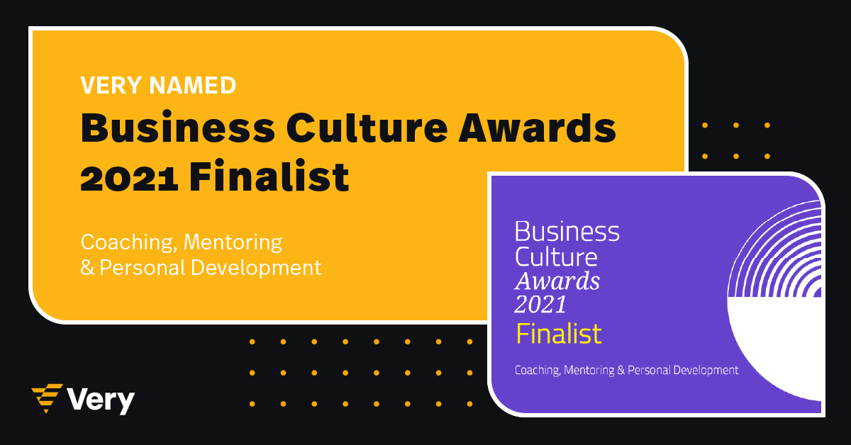 Very Named 2021 Business Culture Awards Finalist
