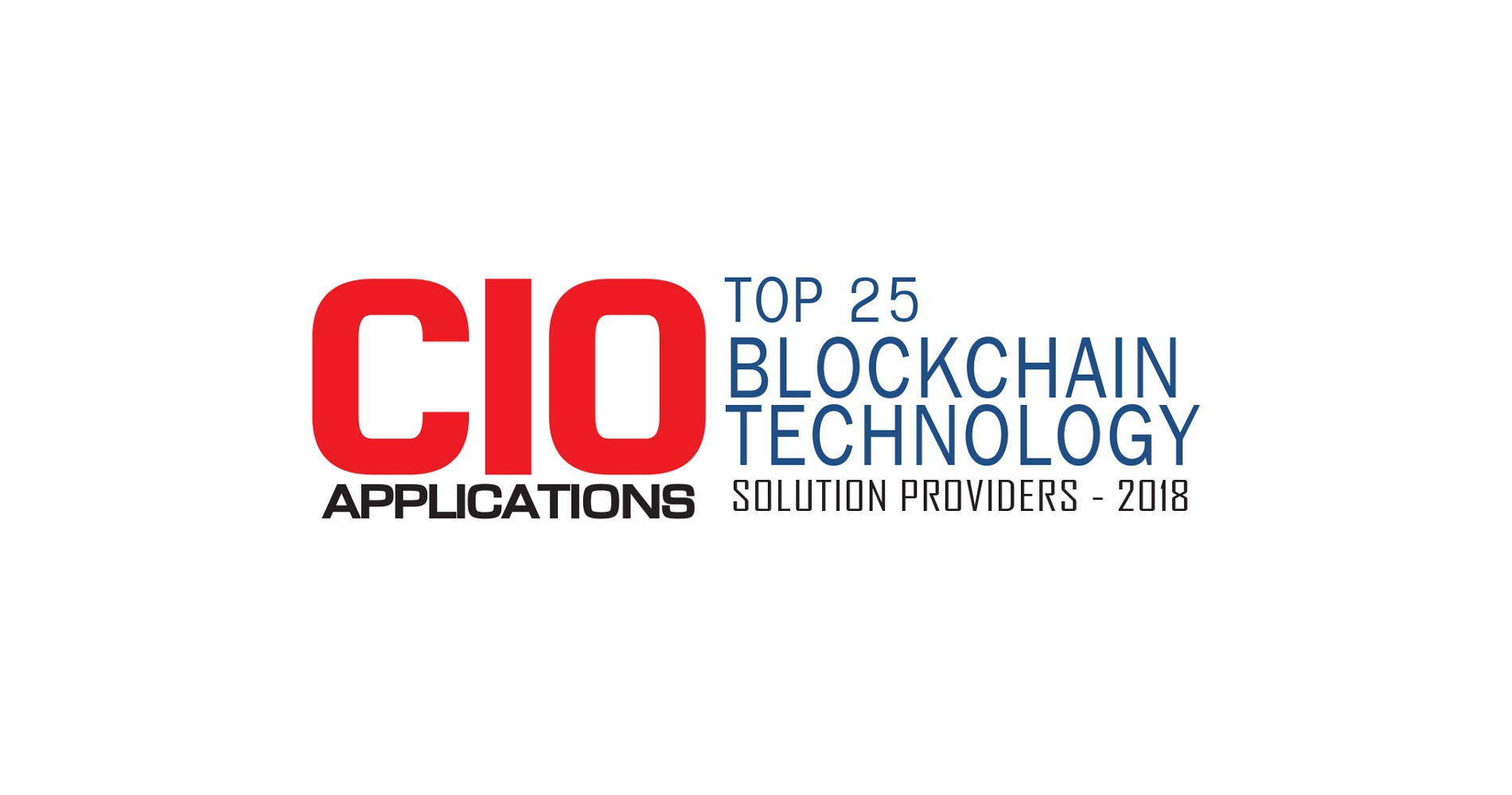 Very Named as Top Blockchain Technology Solutions Provider