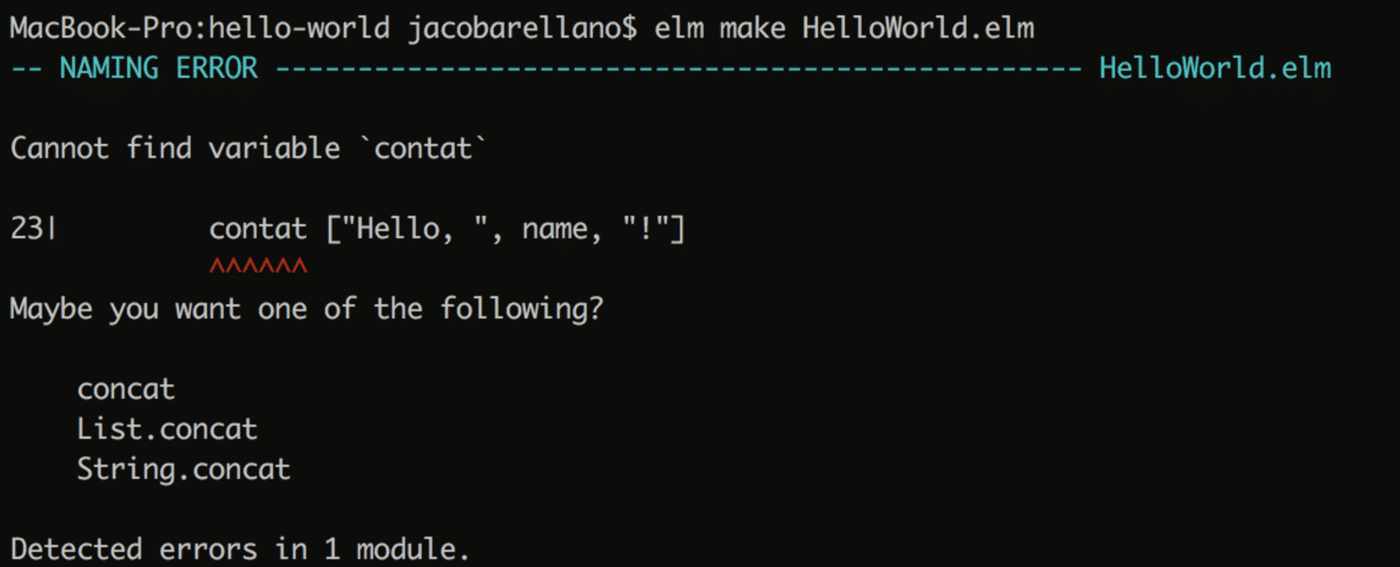elm in a react world