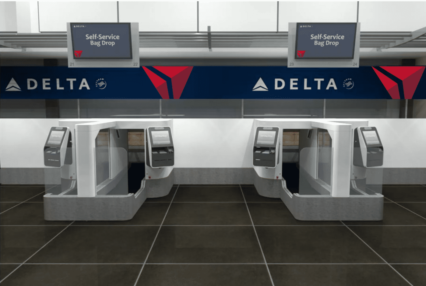 facial recognition bag drop delta