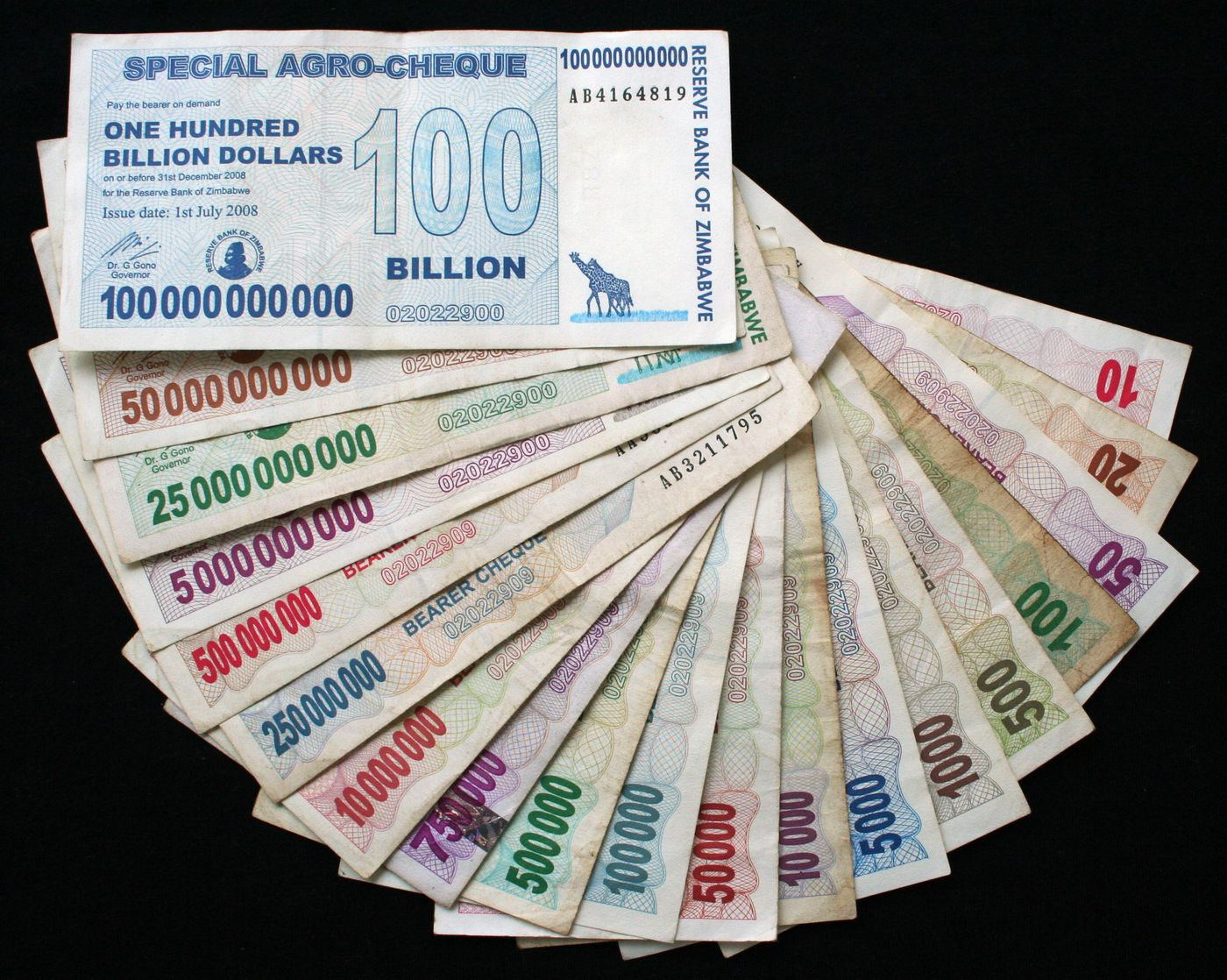 hyperinflation currency