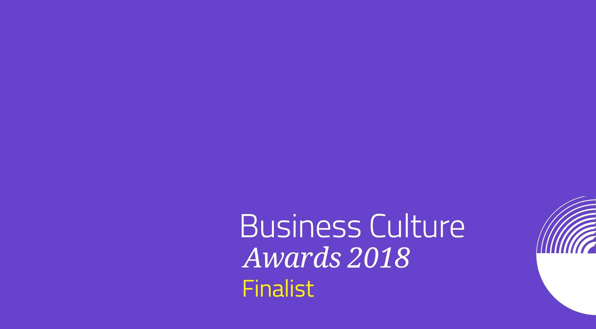 Very Named a Finalist in Business Culture Awards Competition
